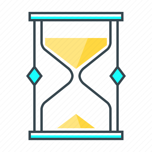 download time, history, hourglass, time, timer, timing, wait icon