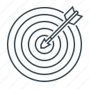 goal, target, aim, targeting, arrow icon