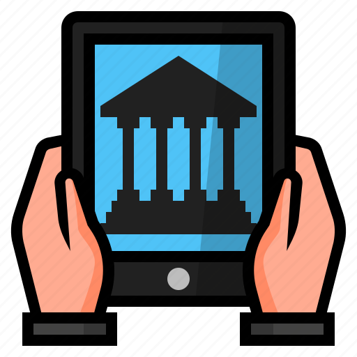 Business, online banking, digital banking, mobile banking, banking, internet banking icon