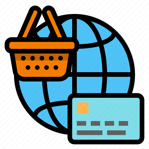 business, internet shopping, internet store, online payment, online purchase, online shopping, online store icon