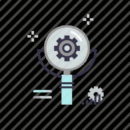 business, graph, growth, marketing, optimization, seo, setting icon