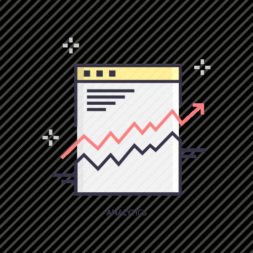 analytics, chart, graphs, growth, increase, statistics icon