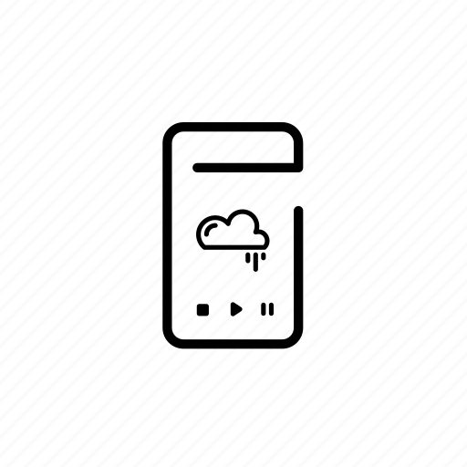 .svg, device, mobile, music, play icon