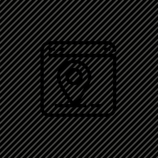.svg, map, pin, web icon