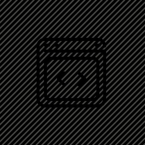 .svg, code, development, web icon