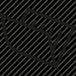 archive, computer, folder icon