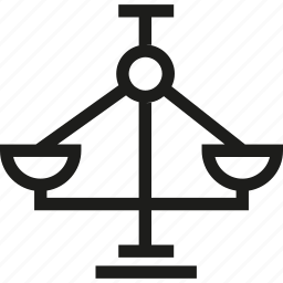 balance, justice, scale, weigh machine icon