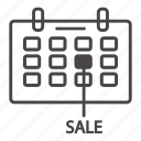business, flat icon sale, sale, sale off icon