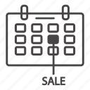 business, flat icon sale, sale, sale off icon