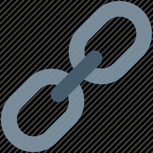backlink, chain link, hyperlink, link, web link icon