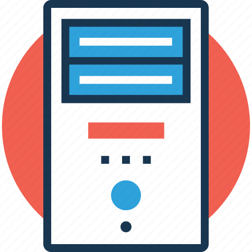 data server, database, network server, server, server storage icon