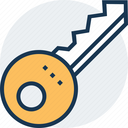 access, door key, key, lock key, security icon