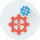 cogs, cogwheel, gear, maintenance, repair icon