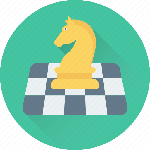 bishop, chess, game, knight, pawn icon