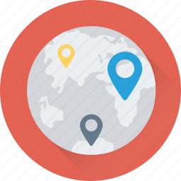 exact location, global, globe, map location, placeholder icon