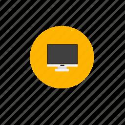 computer, desktop, electronic, pc, technology icon