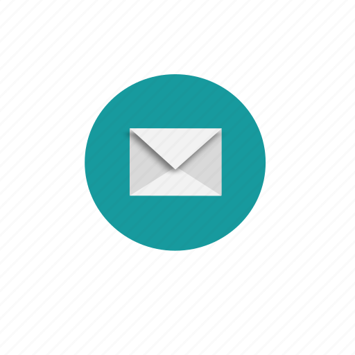 communication, envelope, letter, mail, post, send icon
