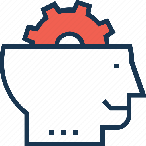 analytical thinking, brainstorming, mind, strategy icon