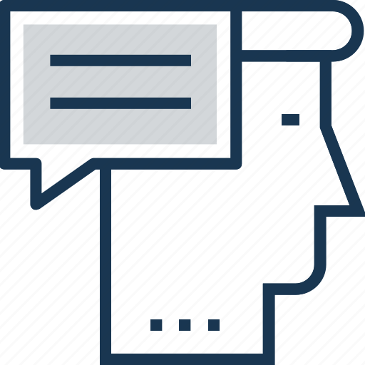 character, chat, comments, reference, testimonial icon