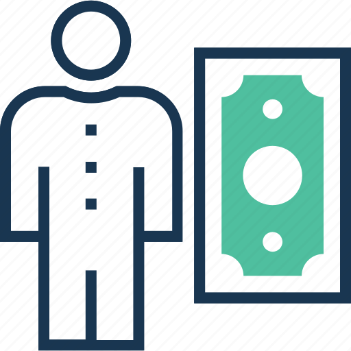 banknote, currency, entrepreneurship, investment, investor icon