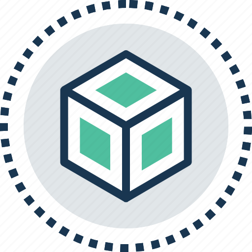 cube, measurement, product quality, quality, secure icon