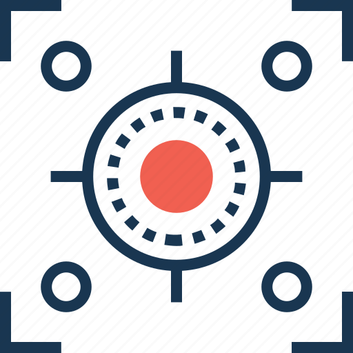 focus, interface, scope of activities, selector, targeting icon