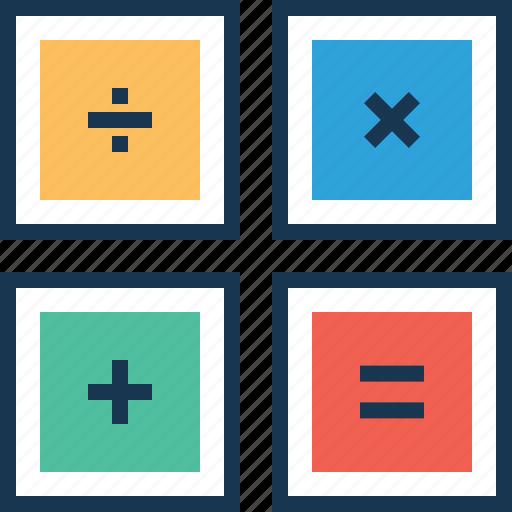 business, calculation, calculator, finance, maths icon