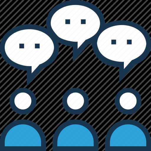 feedback, review, talking, user, user surveys icon