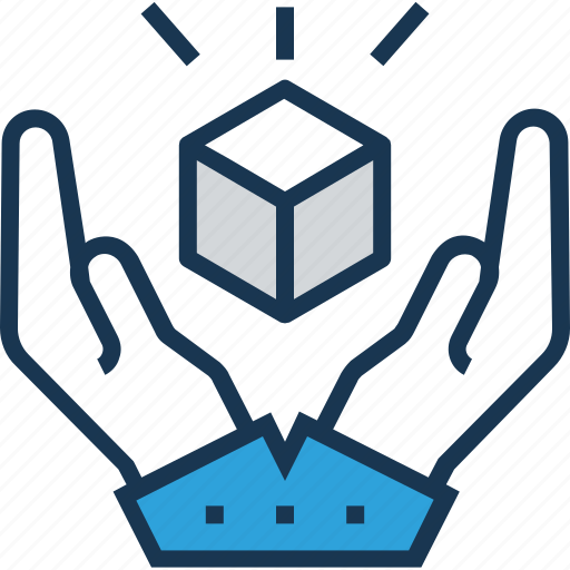 cube, insure, product quality, quality, secure icon