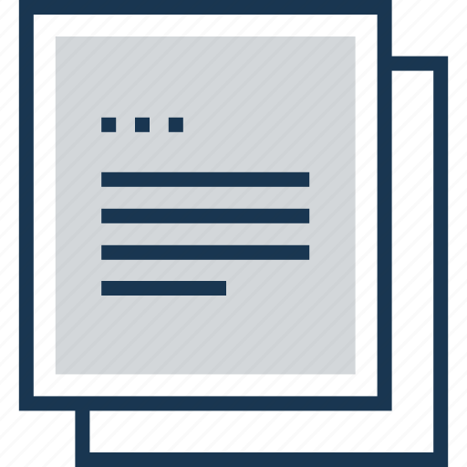 file, notes, text sheet, word sheet, writing papers icon