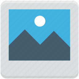 image, landscape, photo, photography, picture icon