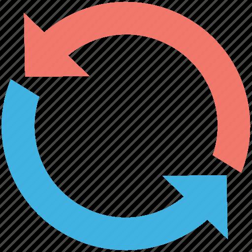 loading arrows, processing, refresh, sync, synchronization icon