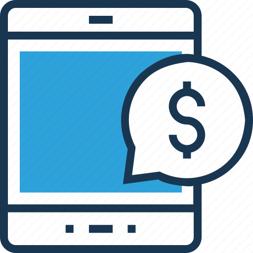 banking, chat bubble, mobile marketing, mobile payment, network icon