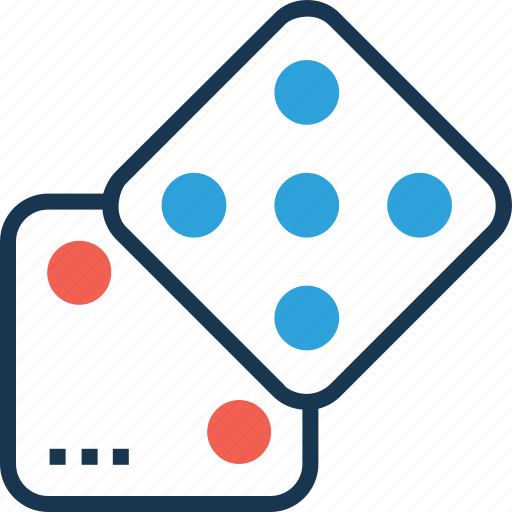 business strategy, domino, gambling, game, strategy icon