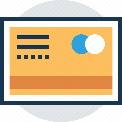 bank card, card payment, cash card, credit card, payment method icon