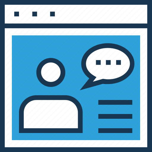 chat bubble, chatting, consultant, conversation, online consulting icon