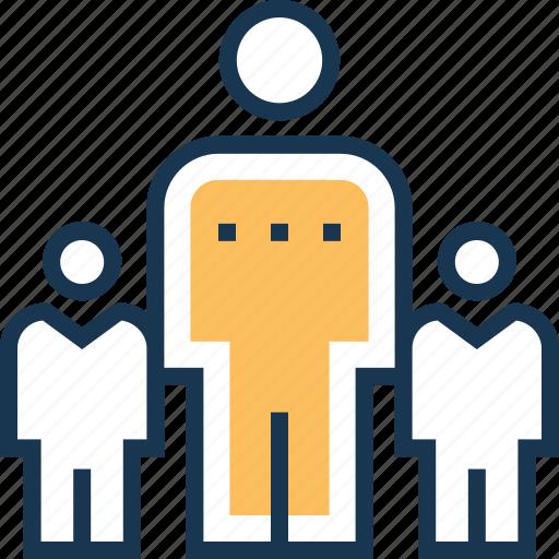 boss, leader, management, manager, team leader icon