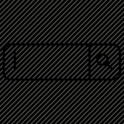 bar, search icon