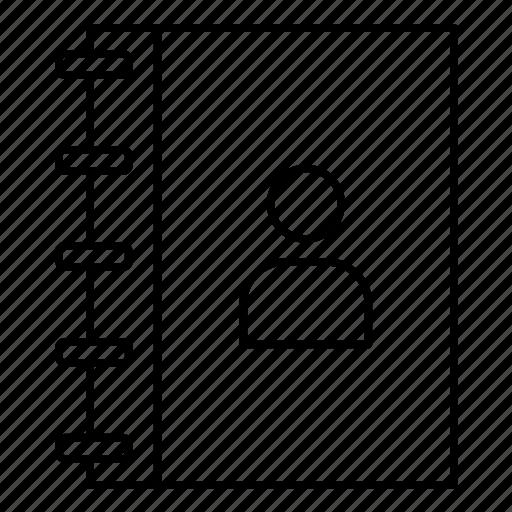 diary, notepad, notes icon