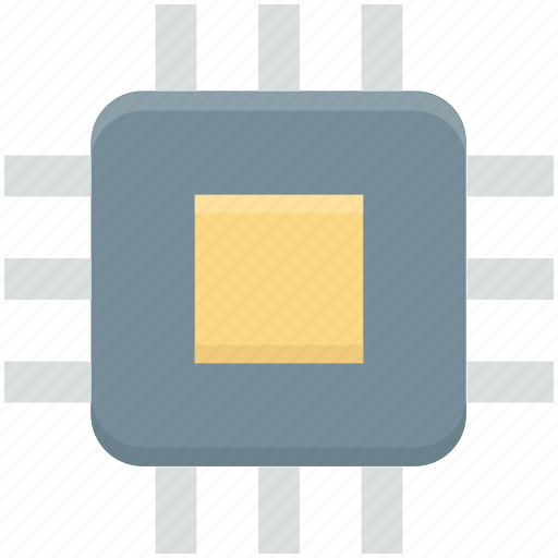 chip, computer chip, integrated circuit, microprocessor, processor chip icon