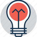 bulb, incandescent, light bulb, luminaire, solution icon