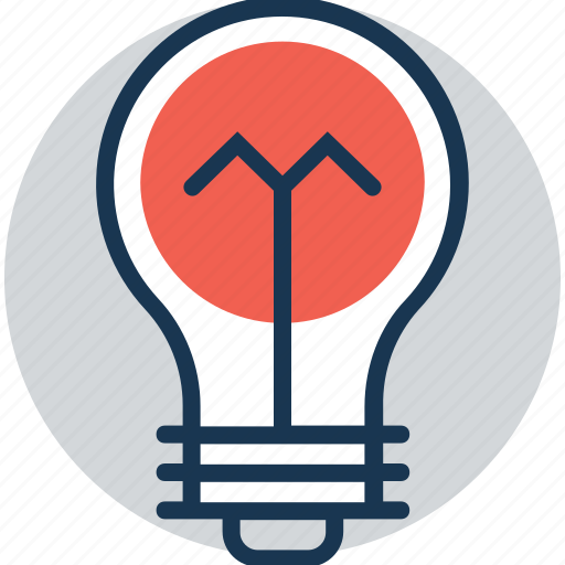 bulb, incandescent, light bulb, luminaire, solution icon