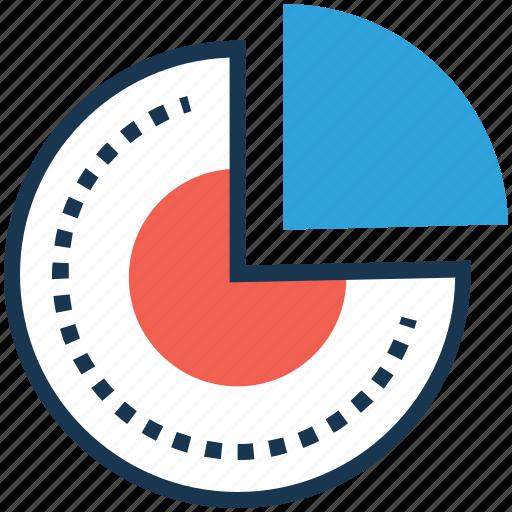 circular chart, diagram, graph, pie chart, pie graph icon