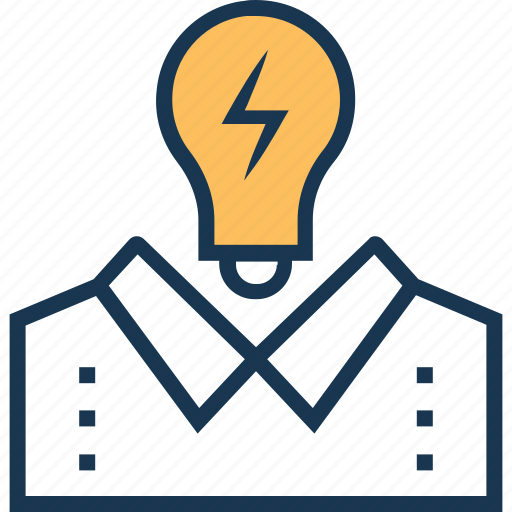 brainstorming, bulb, creativity, idea, idea develop icon