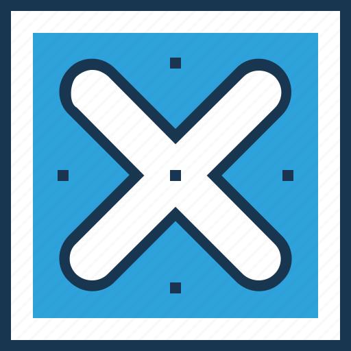 cancel, cross, delete, failed, failure mark icon