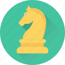 bishop, chess, game, knight, pawn icon