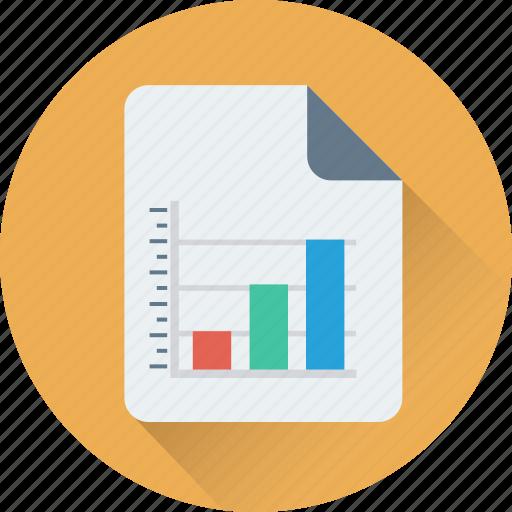 analysis, analytics, bar graph, business report, report icon