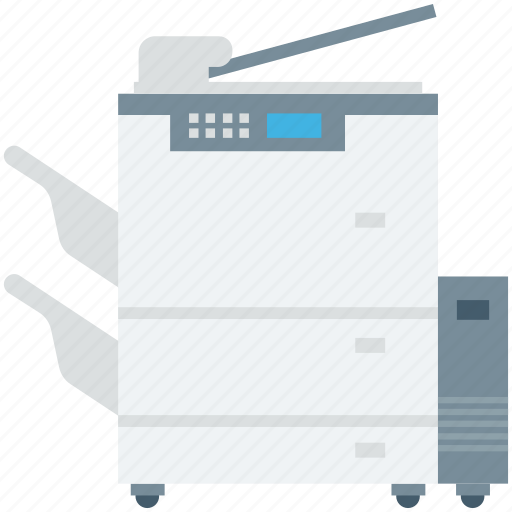 copier, copy machine, office supplies, photocopier, photocopy machine icon