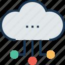 cloud computing, cloud connection, cloud network, network sharing, server cloud