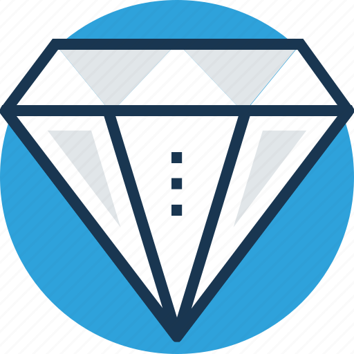 Diamond, gem, gemstone, jewel, precious stone icon - Download on Iconfinder